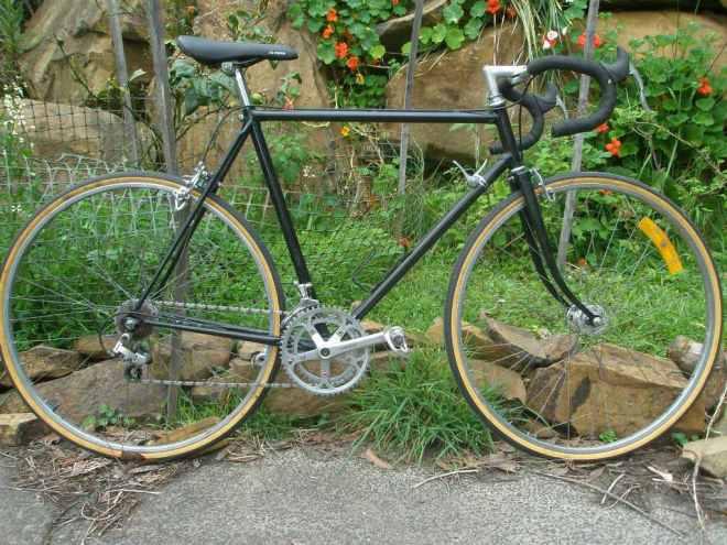 Nakamura black bike