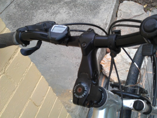 Adjustable stem