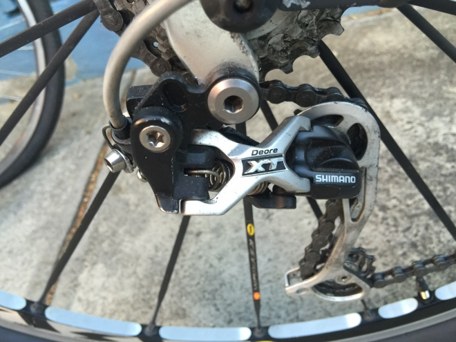 Troublefree Shimano Deore XT