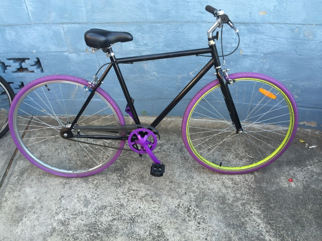 Purple fixie